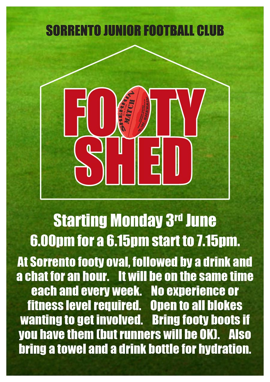 Footy Shed